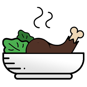 Restaurant website logo
